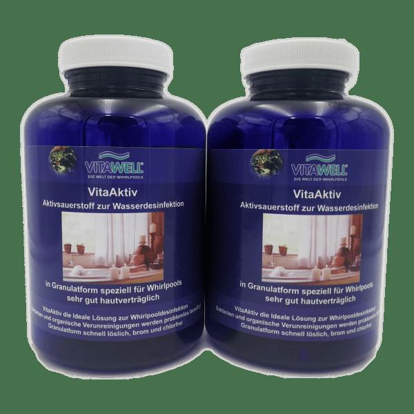 Whirlpool Desinfektionsmittel VitaAktiv Granulat im Vorteilspack